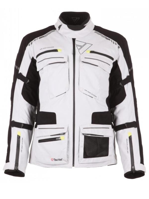 Modeka Tacoma feher-fekete motoros kabát