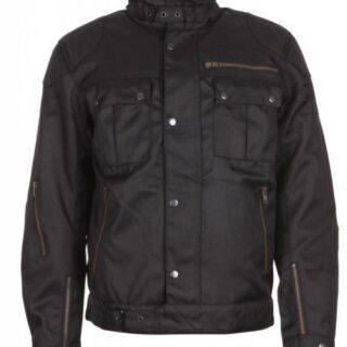Modeka Jesper fekete motoros kabát