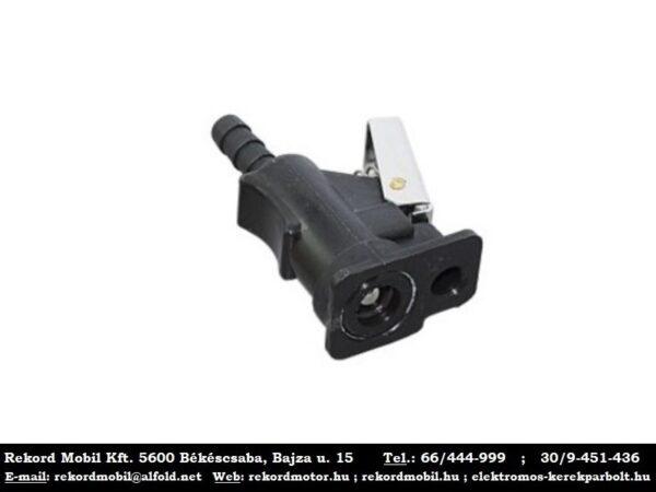 09. uzemanyagcso cso csatlakozo csipeszes 6.4mm