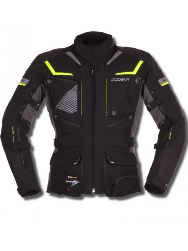 modeka panamerica fekete motoros kabát