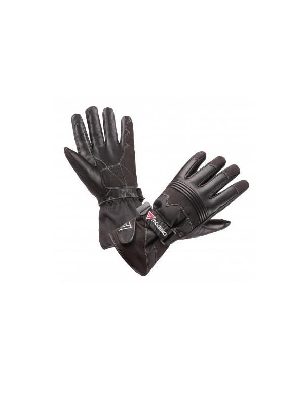 modeka freeze evo (fekete) férfi motoros kesztyű