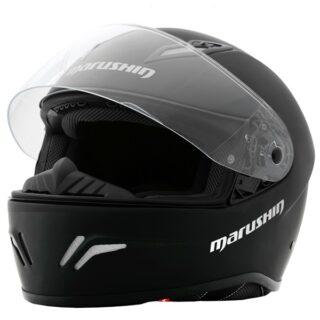 Marushin RS3 Matt fekete bukósisak