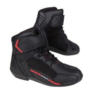 modeka kyne fekete férfi motoros cipő