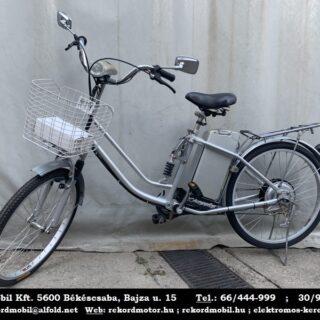 Használt Elektromos Kerékpár (Ezüst Színben)