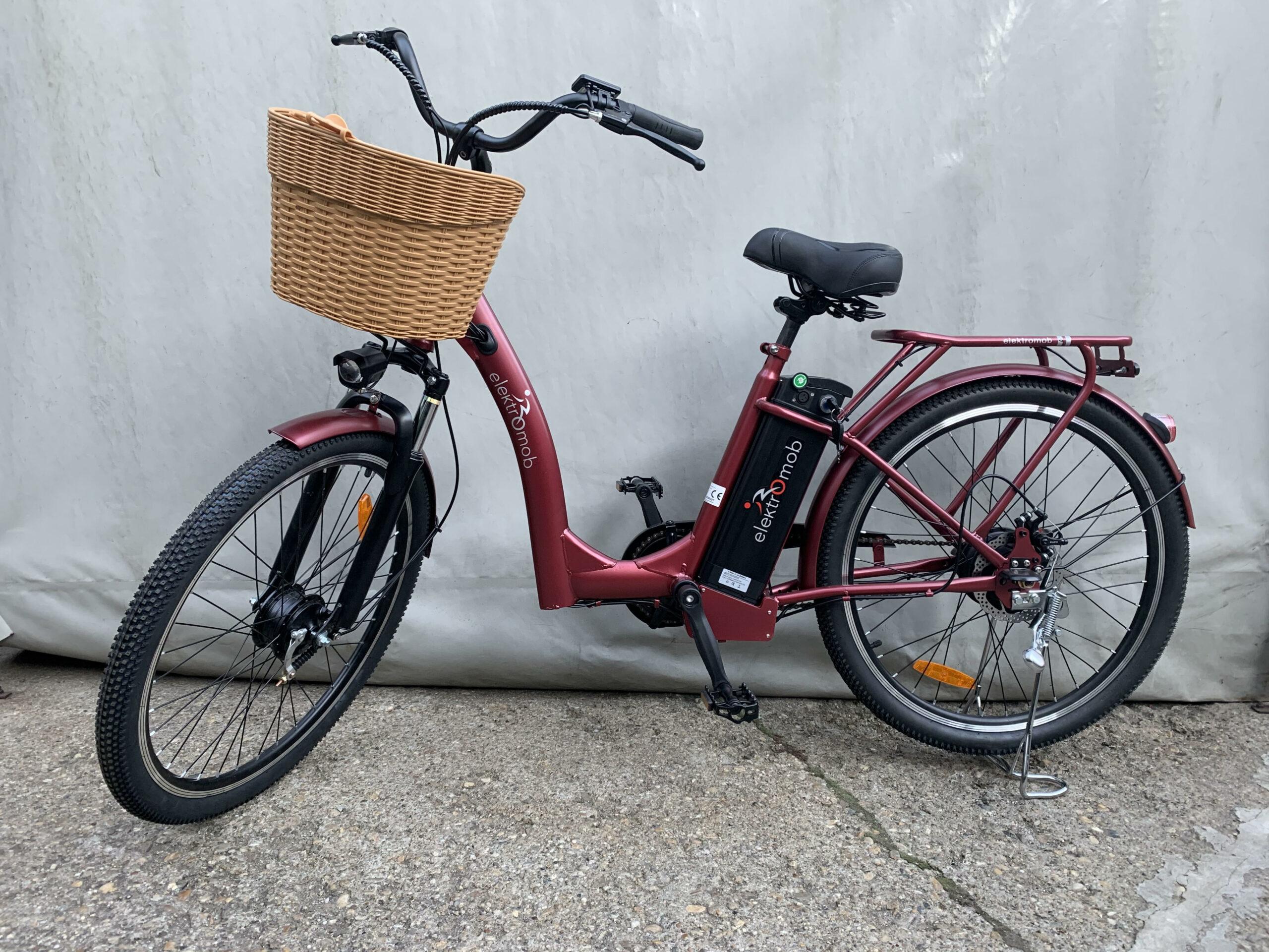 Polymobil E-MOB 20 Elektromos Kerékpár (Bordó)